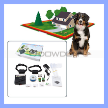 Hidden Underground Inground Smart Outdoor Electronic Fencing Dog Fence System with Two Collars
