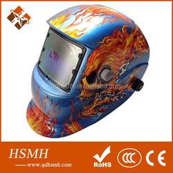 2016 New Design solar cell Auto Darkening Welding Helmet EN379