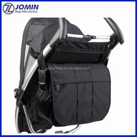 Factory Luxury Hanging Baby Stroller Organizer Bag, Stroller Diaper Bag For Accessories