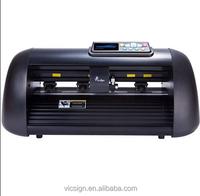 "12"" vinyl sticker laser cutting machine/Vicsign HWQ330 Print and Cut Plotter,better than Graphtec Silhouette Cameo"