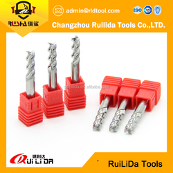 Multi flute milling tools CNC machine tools