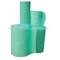 Iso9001-2008 de alta calidad de fibra de vidrio de filtro de aire/cabina de pintura de filtro de fibra de vidrio rollo