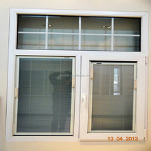 used commercial blind inside PVC / UPVC double glass window