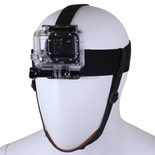 Sports camera Accessories Elastic Head Belt Mount Strap Band with Chin Belt for GoPro HD Hero 2 3 3+ 4