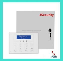 Works stable Wireless 8 hardwired PSTN Security buglar Home and business Protection alarm System