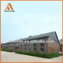 interlocking plastic roof sheet/tile design for fastness
