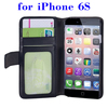 Trade assurance supplier Flip Leather case cover for iPhone 6S card slot