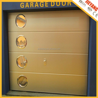 finger protection sectional steel garage door
