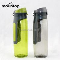 wholesale custom logo water bottle/voss water bottle/plastic water bottle manufacturer