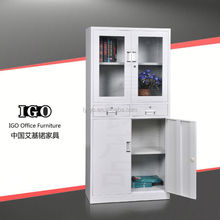 IGO-008-1 Good Quality Office Furniture lateral fireproof file cabinets 4 layer office furniture