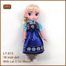 Muñecas liya, congelados de nieve elsa resplandor de la <span class=keywords><strong>muñeca</strong></span>