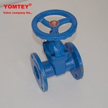 Iron flanged non rising stem gate valve