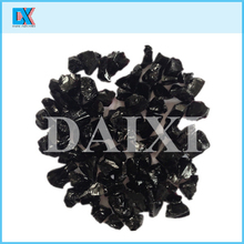 Crushed colored decorative glass chippings