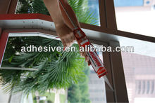 aluminum door window silicone sealant