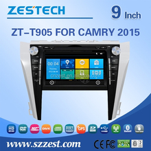 For toyota camry 2015 car dvd player with dvd/cd/mp3/mp4/bluetooth/radio/rds/tv/gps/3g!