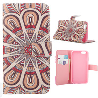 Custom Printed Pattern PU Leather Flip Wallet Case with Stand Function For Samsung Galaxy Note 5