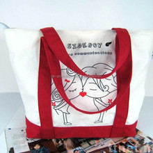 Alibaba express 2015 Good Quality New cheap plain tote canvas bags