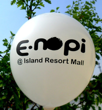 Personalizada impresa globo/impreso el logotipo de globos de látex