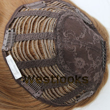 100% Virgin Mongolian Straight Hair Kosher Jewish Wig Kippah Topper Wholesale