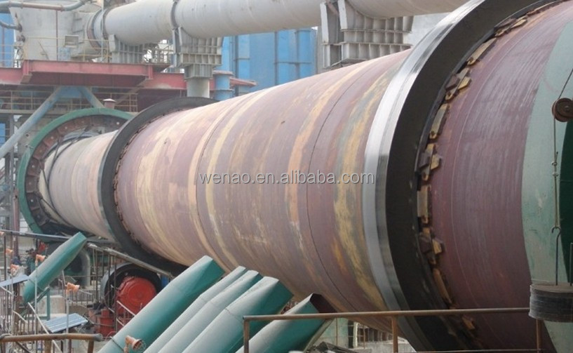 Cement Kiln Clinkers : Rotary kiln for sintering cement clinker