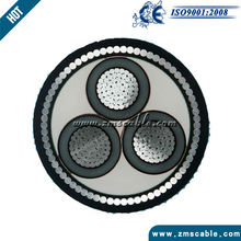 26/35kv aluminium conductor DSTA armoured underground power cable for construction