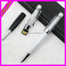 Good quality crystal pendant usb pen drive wholesale usb flash drive pen usb stylus pen