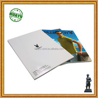 custom color printing softcover book