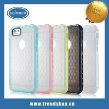 g-case brand soft silicone and ultra thin gitter tpu case for iphone 6