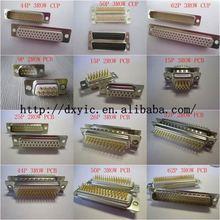 D-sub Connector D-SUB R/A MTL BKT 4-40 POST DBM25P1A8NA191K87