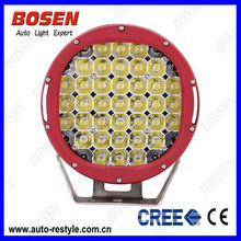 9 Inch LED Off-road Light,111W LED Work Light,12/24V Driving On Truck,Jeep, Atv, 4WD, Boat, Mining LED Driving Light