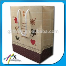 Vogue Custom Paper Shopping Bag, Custom Paper Packaging bags