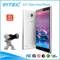 China Supplier Android 4.2.2 Dual SIM 3G GPS Octa-Core Phone