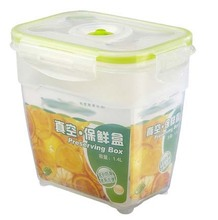 J570 Plastic food container fresh preserving box for food storage with lock