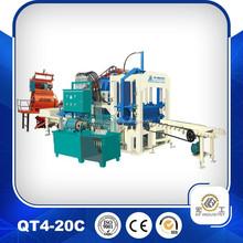 China good quality QT4-20C concrete block making machine,hollow block machine in philippines