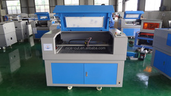 honeycomb table with rotary device NC-E6090 laser glass engraving machine