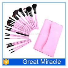 23pcs high quality factory makeup brush set portable comesticbrush