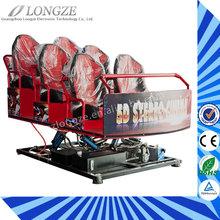 Longze New Products 5D Cinema Simulator Movies