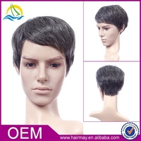Free wig catalogs topper synthetic hairstyle cap short hair full silk lace wig silk top