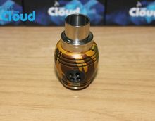Alibaba top search authentic Nuke rda with 2 colors and big cloud crazy selling in Malaysia