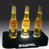 factory direct sell perspex patron tequila light up 3 bottle glorifier stand base