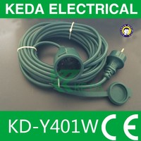 VDE power plug extension lead