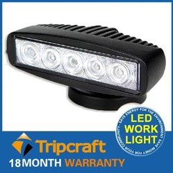 High Power Auto Part 5.5 Inch 1050lm Epistar 15w Car Driving Work Light With CE ROHS IP 67