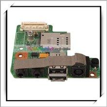 DC Power Board Jack With Audio / USB / SIM Card Slot For Dell Latitude E5400 -83002703