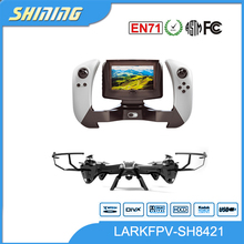 2.4GHz lark FPV Drone RC helicopter with hd video camera lcd display