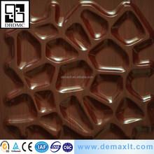 brown net model 3d pvc wall panel