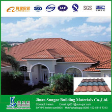 Galvanized aluminium roofing tile/ sheet for villa/house/building