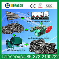 automatic industrial wire nail making machine