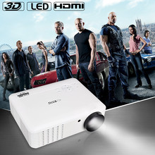 High Brightness 3500Lumens android4.2 wifi 1280x800 Home Theater Digital 1080P HD 3D Video HDMI USB TV LCD LED Projector