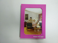 3D OEM rubber PVC photo frame/photo holder