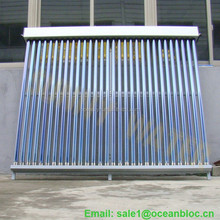Solar thermal collector heating 300 liters water per day